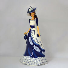 Chelsea Figurine - Blue Willow Collection Elegant Lady