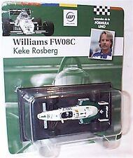 Williams FW08C KEKE ROSBERG 1983 SCALA 1-43 NUOVO IN BLISTER cardate