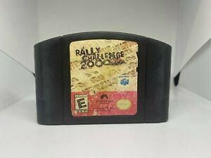 Rally Challenge 2000 N64 (Nintendo 64, 2000) Authentic, Tested & Working!