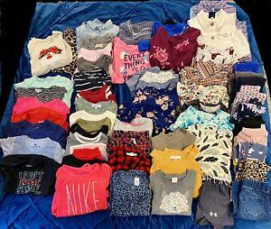 Girls Clothing Lot Size 5/6/6x 50+ Items  Abercrombie Nike Dotdotsmile Carter's