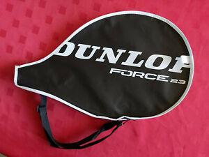 DUNLOP FORCE 23 TENNIS RACKET RAQUET RACQUET NEW CASE COVER & ADJUSTABLE BELT