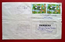 ALBANIA 2000 - Cartoon. Cover Mi 2736. Receipt notification mail document