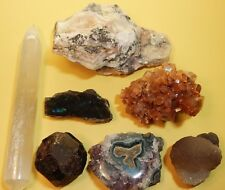 Opal Garnet Selenite Amethyst Aragonite Labradorite Rocks Crystals Crystal (OGS)