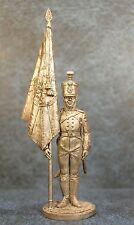 Tin Soldiers * Ensign Pskov musketeer regiment a regimental banner * 54-60 mm *