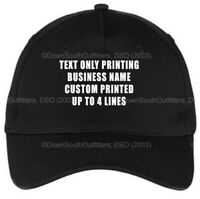Personalized Hat Custom Baseball DSO Ball Cap Your Text Here Printing