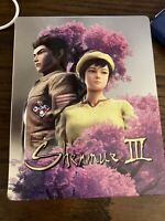 Shenmue 3 III PS4 Limited Edition STEELBOOK Case NO GAME Free Shipping E1
