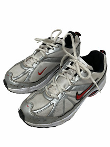 Nike Dart VI white boys running shoes uk-4 eu-36.5 cm-23.5
