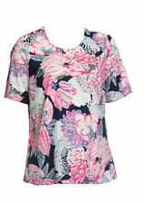 Marks and Spencer Women's Floral Polyester Short Sleeve Sleeve Tops & Shirts