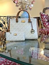 NWT, $600 MICHAEL KORS KELLEN  MEDIUM TOTE/CROSSBODY/MESSENGER HANDBAG+WALLET