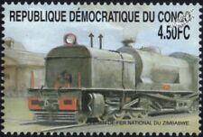 Rhodesian Railways/Zimbabwe Beyer-Garratt Class 14 Steam Train Locomotive Stamp
