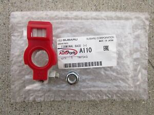 FITS: 90 - 07 SUBARU LEGACY POSITIVE + BATTERY TERMINAL CONNECTOR OEM NEW