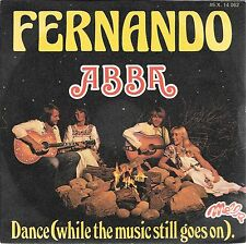 "45 TOURS / 7"" SINGLE--ABBA--FERNANDO / DANCE--1976"