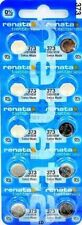373 RENATA SR916SW SR68 (10 piece) V373 D373 GP313 Battery Authorized Seller