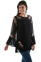 Scully women's Embroidered Tunic HC505