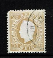 Portugal SC# 39, Used, Perf 12.5, Pulled corner perf, see notes - Lot 082217