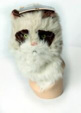 NWT**Mouth Mover Cat Mask WerewolfHairy Cat Costume Furry Hairy Adult/Teen*Elope