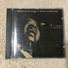 LOUIS ARMSTRONG - MY GREATEST SONGS CD _MCA _Disc Very Good.       (1367)