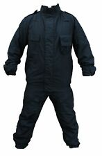 New Yaffy 2 Part Zip Off Flame Retardant Riot Overall Coverall Navy Blue YC02N