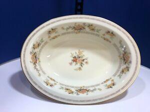 Vintage Westport Yellow by Noritake 10 inch Oval Vegetable Bowl #8166 W83