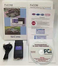 FORD, MAZDA, dispositivo diagnostico, errore florilegio dispositivo, OBD II diagnosi, USB, focom
