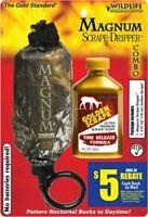 NEW! Wildlife Research Center 386 Magnum Scrape-Dripper Combo Pack - Quantity 1