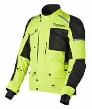 Triumph Back Motorcycle Jackets with CE Approved Armour