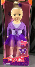 "2013 MADAME ALEXANDER MY LIFE DOLL BALLERINA BLONDE 18"" POSABLE CUTE!! #67045"