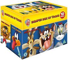 Looney Tunes Big Faces Box Set DVD - Bumper Boxset - NEW - Bugz, Tom, Wiley, Taz