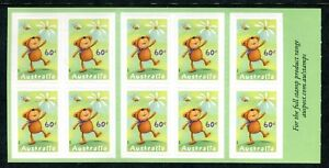 2010 For Special Occasions (Teddy Bear) Stamp Booklet SB358 Philatelic Barcode