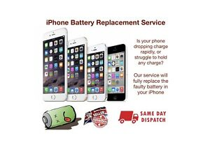 Iphone 8 plus + Battery Replacement Service - Same day repair and return 📱✅