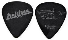 DOKKEN Guitar Pick : 2012 Tour Sean McNabb signature black silver