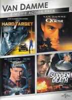 Van Damme 4-Movie Action Pack (Hard Target / S New DVD