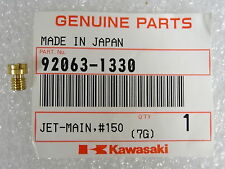 Kawasaki NOS NEW  92063-1330 Main Jet #150 KL KEF KLX KVF ZX  1996-2017