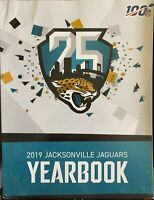 2019-2020 JACKSONVILLE JAGUARS YEARBOOK NFL FOOTBALL PROGRAM 25TH ANNIVERSARY