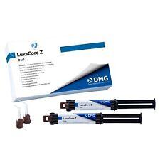 DMG Luxacore Z Dual Smartmix Core Build-Up Composite With Zirconium Oxide 2 Syrs