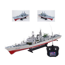 War Ship Boat Destroyer Radio Remote Control Nava Battle Ship 31in RC Scale 1:11