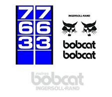 (ORIGINAL LOOK) BOBCAT 763 NEW FULL DECALS STICKER SET KIT A2