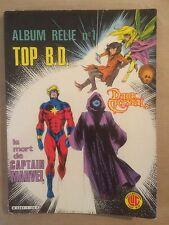 TOP BD - Album n° 1 : T1 : Dark crystal et T2 : La mort de Captain Marvel