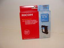 Original Ricoh GC21C GC-21C cyan Aficio GX7000 5050N 3050SFN 3050N 3000 S SF