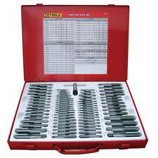 KC Tools Tap and Die 110 Piece Set Metric PT52
