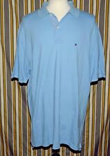 Tommy Hilfiger Light Blue Polo Golf Shirt Size XXL