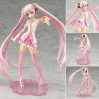 16cm Anime Hatsune Miku Figure Vocaloid Sakura PVC Figurine Figma Manga Toy Doll