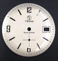 Cadran Dial YEMA Sous Marine Pour Calibre Fe Cup 233 Diamètre 30mm Neuf NOS