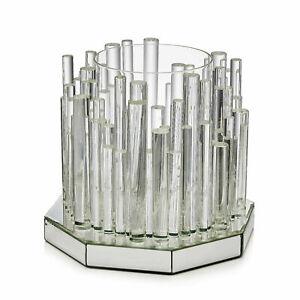 Luxenoa (by Rylan Clark Neal) Ice City Podium Hurricane Candle Holder - new