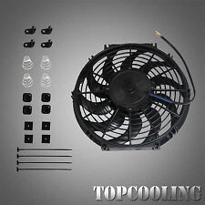 "12"" 12V Volt Electric Pull/Push Cooling Thermo Fan With Mounting Kit Universal"
