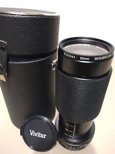 Vivitar 70-210mm 52MM 1:4.5 MC Skylight (1A) Japan #77551539