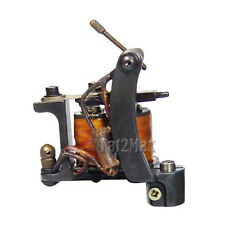 Stainless Steel Tattoo Machine Gun PRO 10 Wrap Liner Shader - Fast Shipping