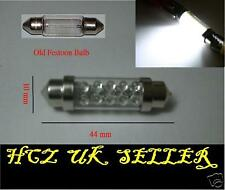 2x 10 LED VAUXHALL OPEL INTERIOR FESTOON BULB 44MM C5W 8 265 WHITE UK