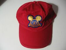 Disneyland: cloth strap metal buckle adjustable hat/ball cap, NEW