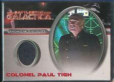 Battlestar Galactica Premiere Costume CC8 Paul Tigh